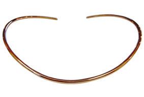 Gold & Diamonds Necklace Torque
