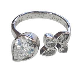 Platinum & Diamond Ring (remake)