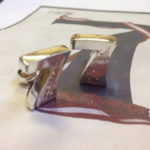 Colette Hazelwood Contemporary jewellery silver cuff links