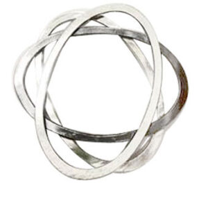 Colette Hazelwood Contemporary Jewellery silver brooch commission