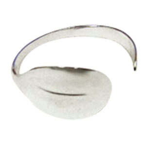 Colette Hazelwood Contemporary Jewellery. Silver Spoon Bangle