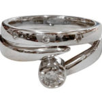 White Gold Wedding & Engagement Rings with Diamonds