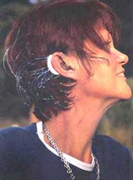 Colette Hazelwood  hearing aid jewellery