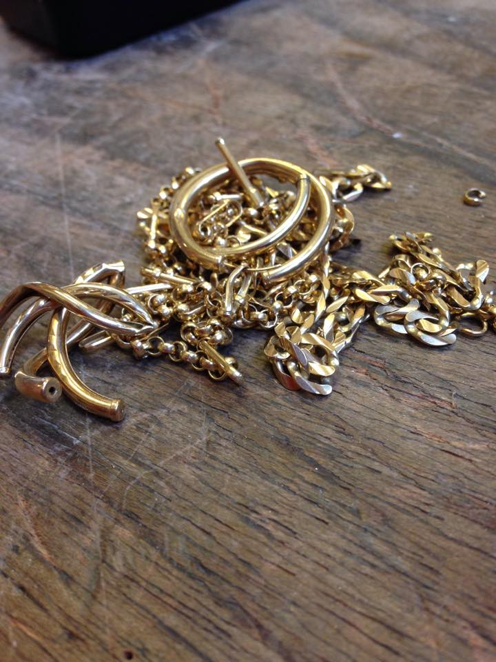 Colette Hazelwood - recycle your old jewellery