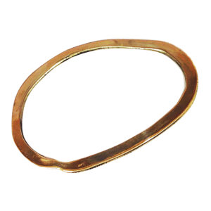 Colette Hazelwood Contemporary Jewellery recycled gold bangle