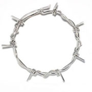 medium barb wire bracelet