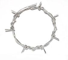 medium barb wire bracelet