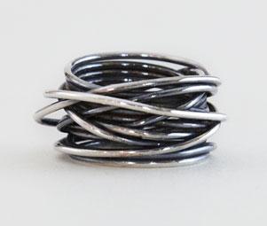 wrap ring silver