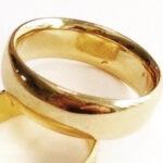 maria 18ct yellow gold ring