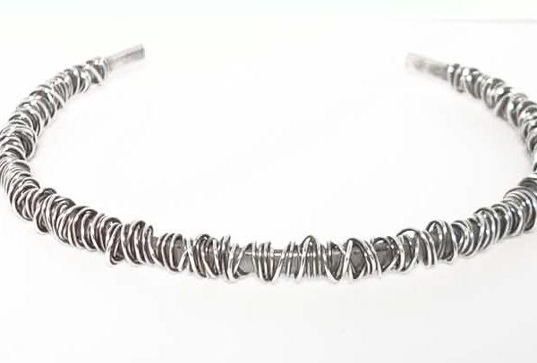 Fine wraparound necklace
