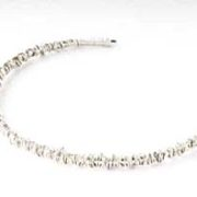 fine wraparound necklace silver torque
