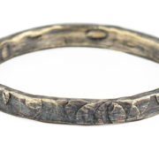2mm hammered ring