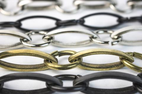Poilshed, oxidised, gold plated & matt finishes - Colette Hazlewood Contemporary Jewellery