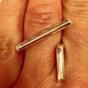 Geometric Ring hand 3