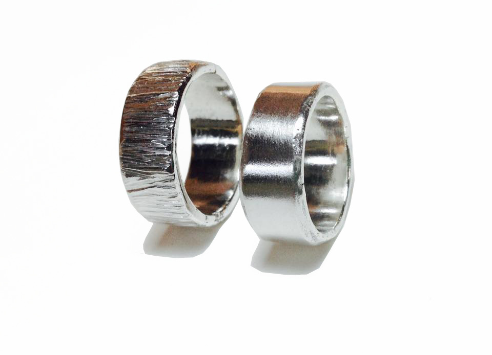 Colette Hazelwood Contemporary Jewellery Ashes Rings