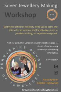 derbyshire school of jewellery workshop