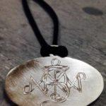 Colette Hazelwood - tattoo silver pendant