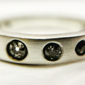 Silver & Diamonds ring.