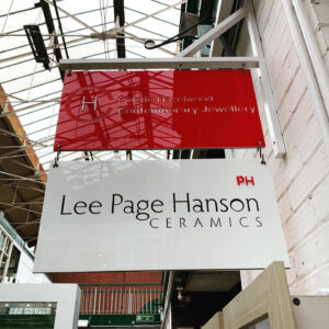 Colette Hazelwood Contemporary Jewellery & Lee Page Hanson Ceramics STUDIO 4