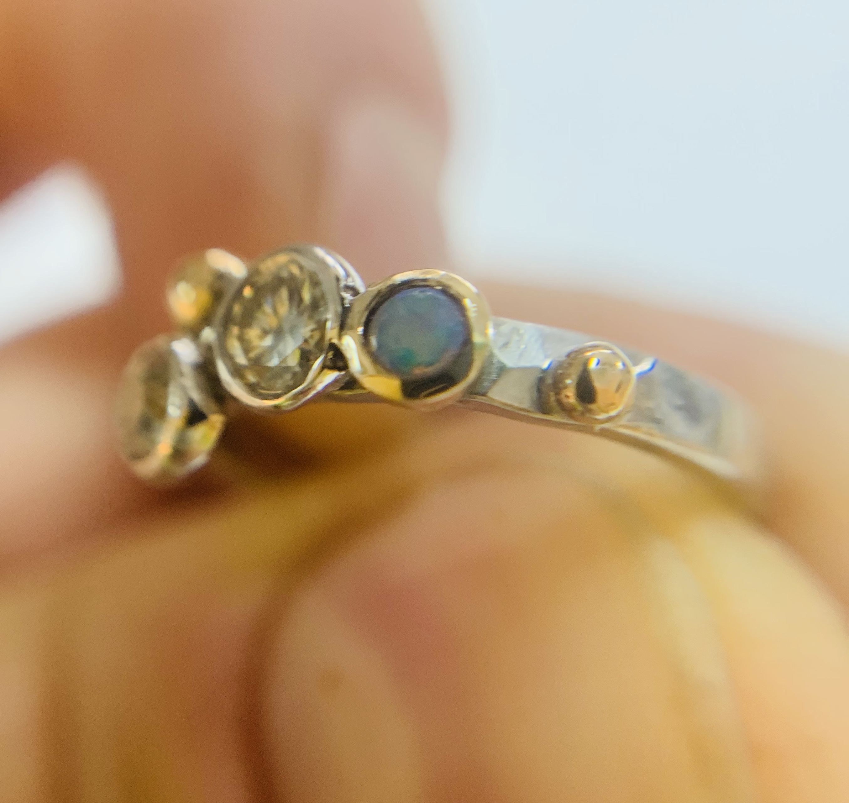 Colette Hazelwood Contemporary Jewellery Engagement Ring