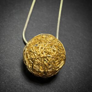 Wraparound Ball Pendant