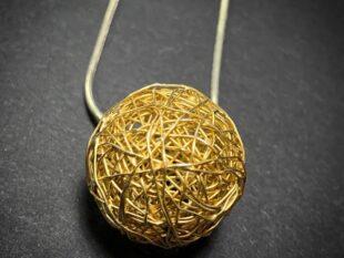 Wraparound Ball Pendant