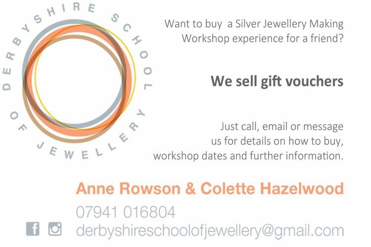 Colette Hazelwood at Derbyshire School of Jewellery