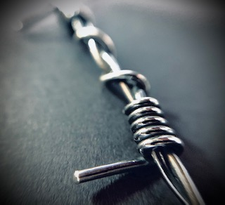 Barb Wire Pendant