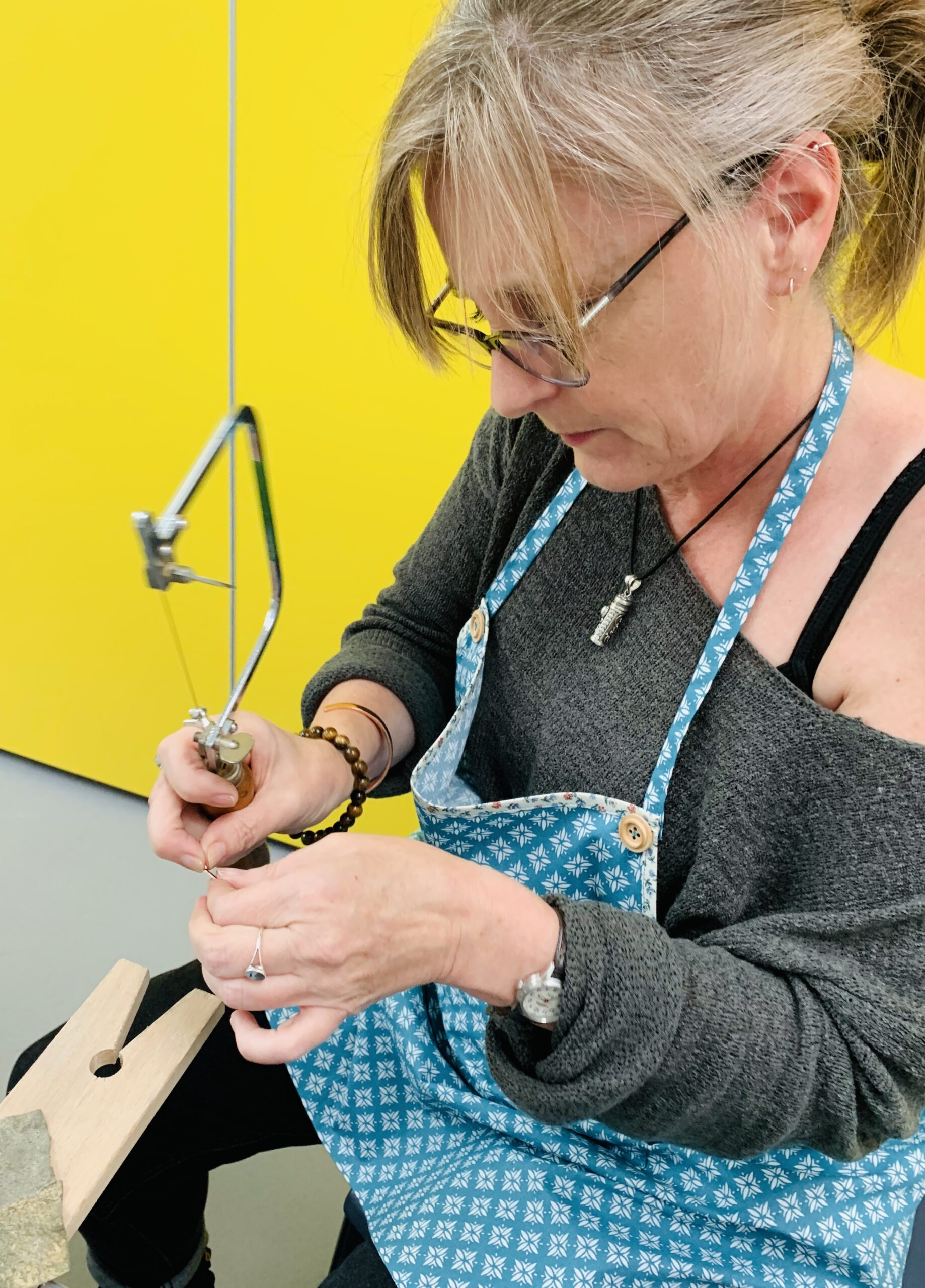 Jewellery making workshops with Colette Hazelwood at Derbyshire School of Jewellery