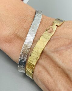 derbyshire school of jewellery ring making workshop with Colette Hazelwood