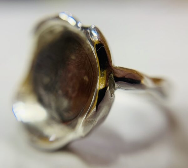 Silver Wax Seal Ring