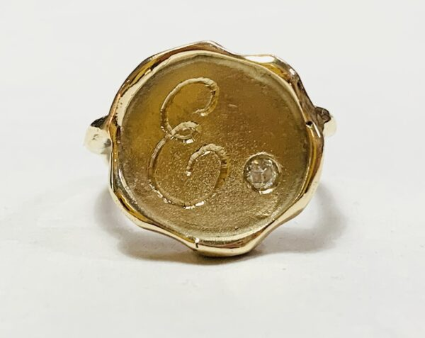Wax Seal Ring - Gold