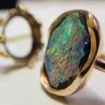 Colette Hazelwod Opal and red gold ring remake