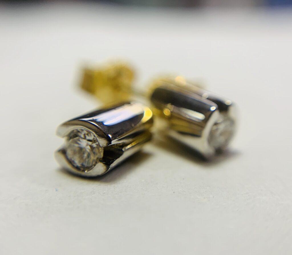 Colette Hazelwood 18ct Gold & Diamond Earrings