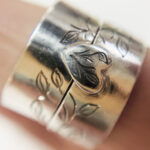 Colette Hazelwood Silver Connecting Rings