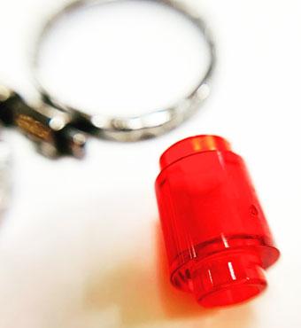 Oxididised Silver Lego Rings by Colette Hazelwood Jewellery