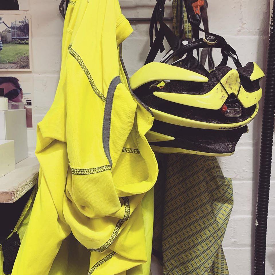 bike kit at work