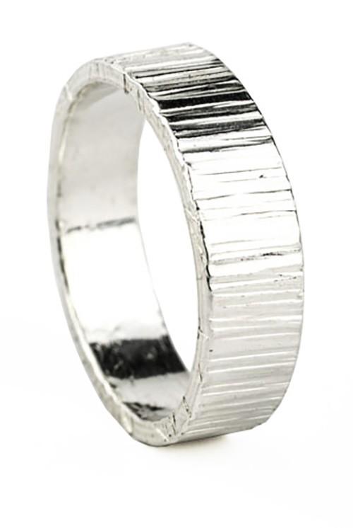 5mm bark piloshed ring