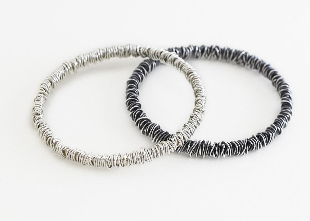 fine wraparound bangles