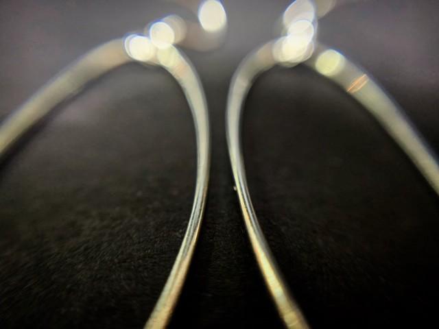 oval links earrings