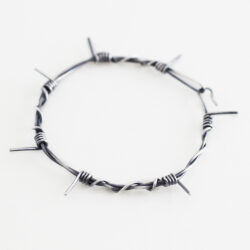 small barb wire bracelet