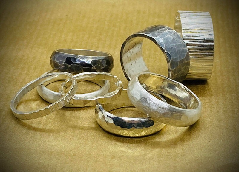 hammered rings2