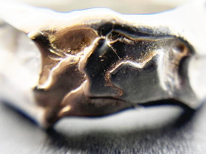 heavy organic ring polished
