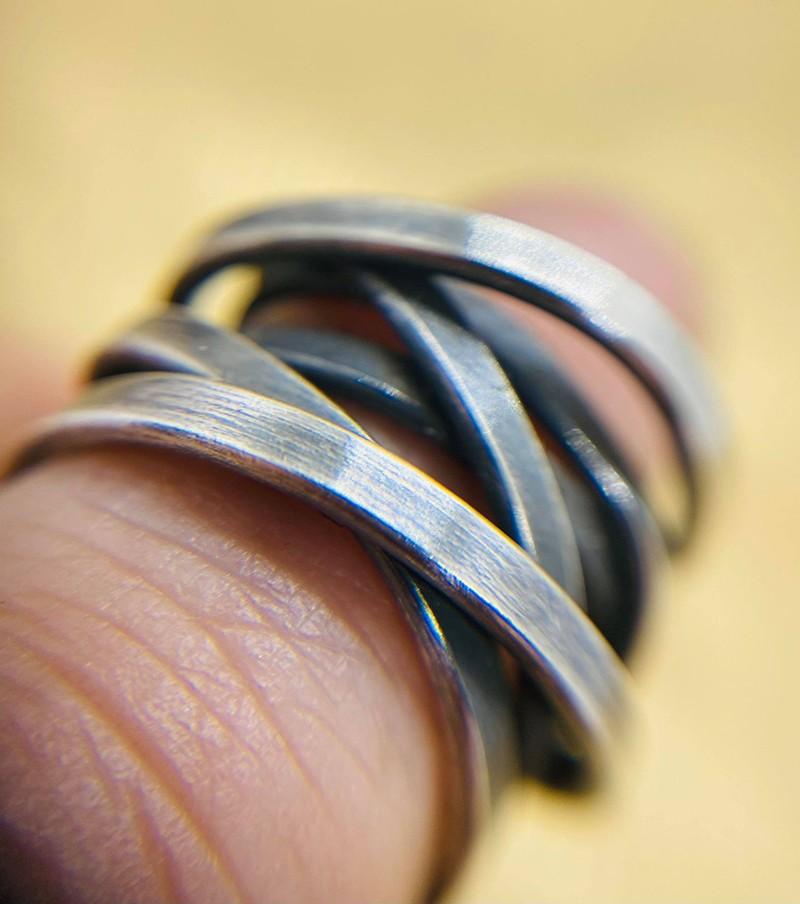 light wrap ring oxidised