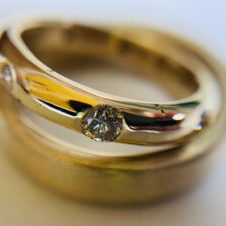 18ct yellow gold and diamonds, ring remakes
